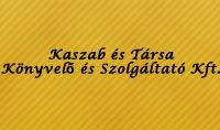 Kaszab és Társa Könyvelő és Szolgáltató Kft.